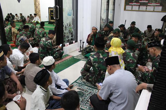 Brigif Raider 9 Kostrad Peringati Maulid Nabi Muhammad SAW Di Jember