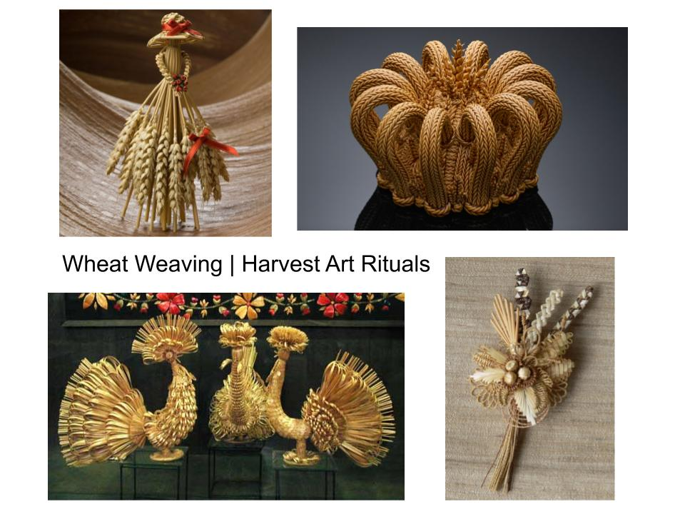 learn about the history of wheat and straw weaving and make your own straw art