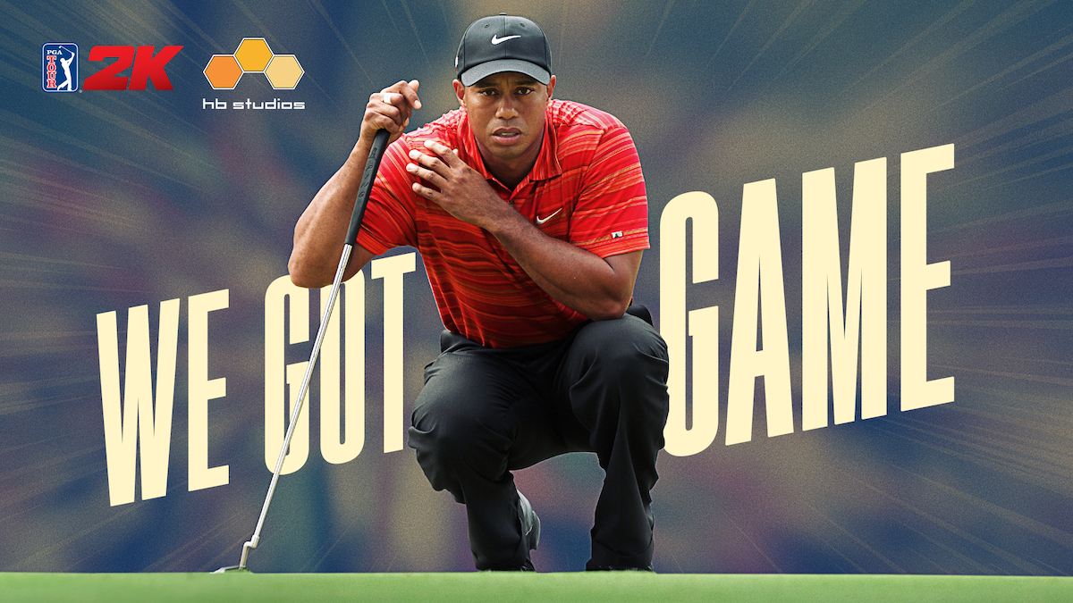 2K sign long term deal with Tiger Woods to develop video game