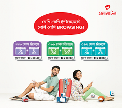 Airtel internet bonus offer
