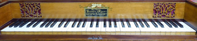 The Yaniewicz and Green square piano which spurred Josie Dixon's research into her ancestor