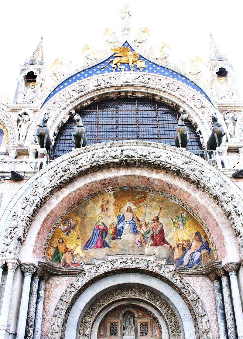 St Mark's Basilica (Basilica San Marco) exterior decoration.