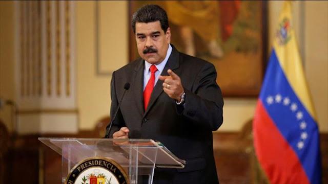 Maduro tacha de 'ridículas' e 'ilegales' las sanciones de EEUU