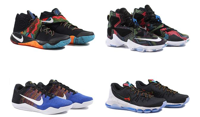 ee3d473eeba Here is a detailed look at the Nike Basketball BHM 2016 Collection  Featuring the newest models from Lebron