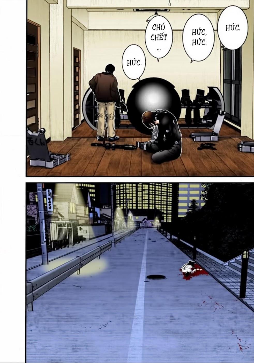 Gantz Chap 18: Điều kiện để sống sót trang 17