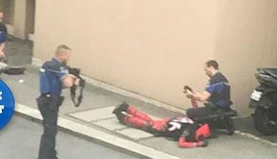 Penggemar Deadpool dibekuk polisi dikira teroris