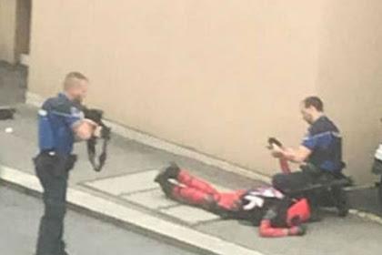 Dikira Teroris, Penggemar Deadpool Diringkus Polisi