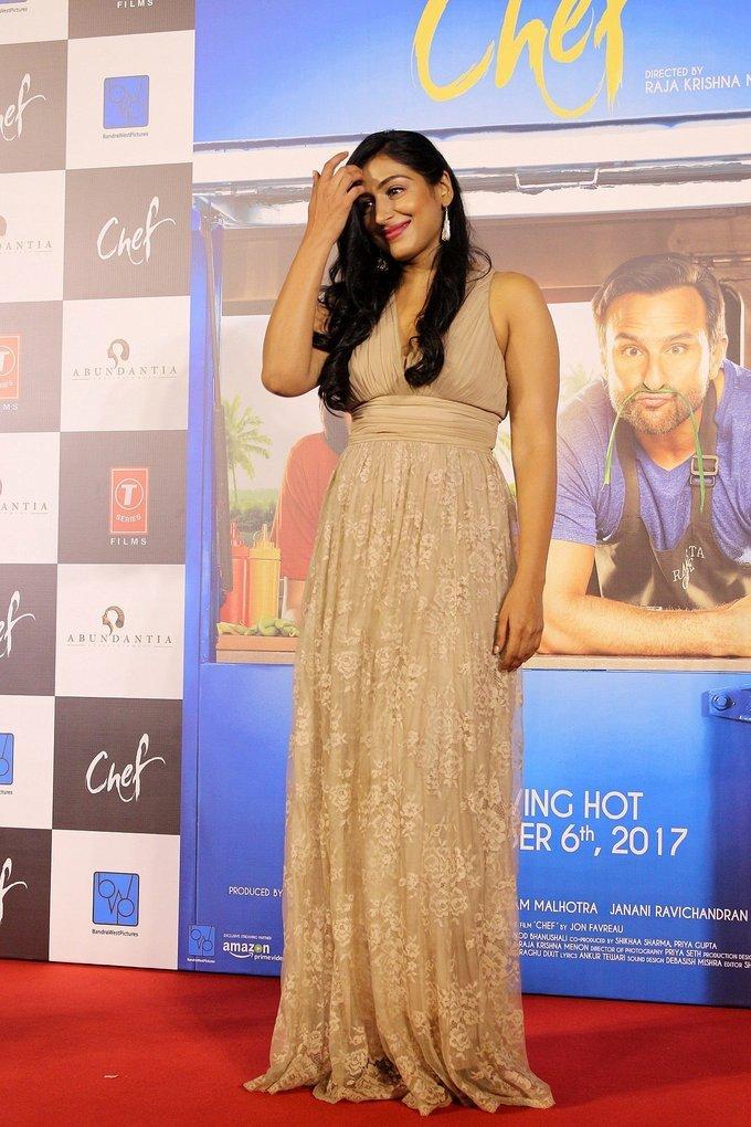Padma Priya at Trailer Launch Of Film Bollywood film Chef Photos