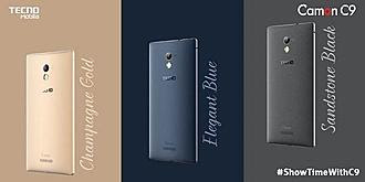 Colors of the camon c9