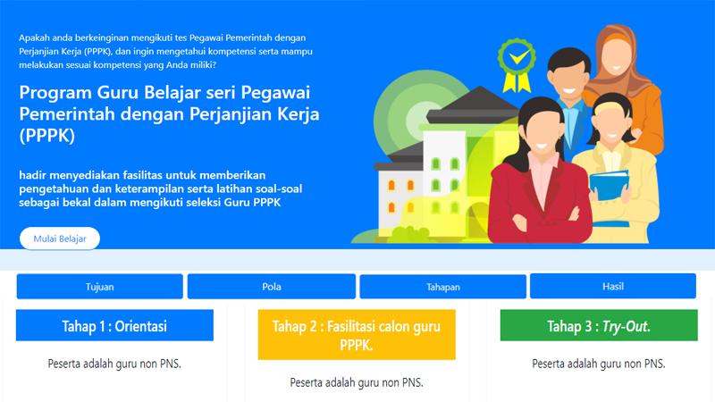 Tujuan, Pola, Tahapan dan Hasil serta Contoh Soal dari Program Guru Belajar Khusus PPPK di SIMPKB