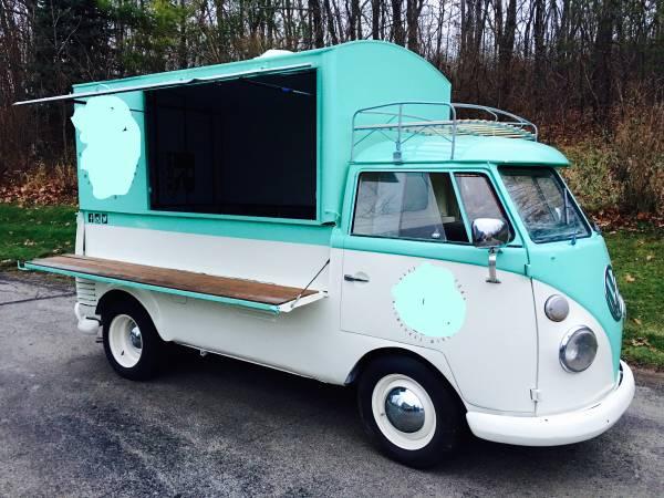 1960 Vw Split Screen Custom Food Truck Vw Bus Wagon