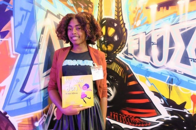 Sickle cell awareness in a book by Jenica Leah