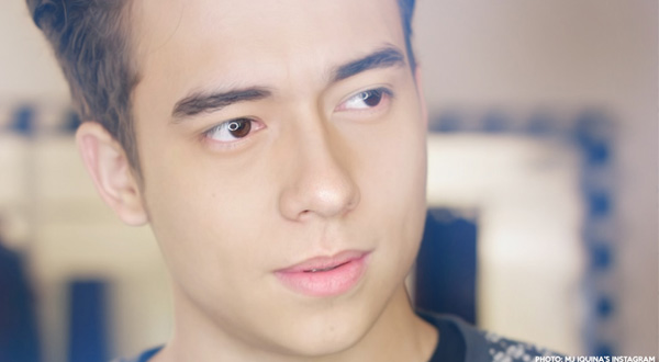 Jameson Blake doesn't want to be compared with fellow Hashtags members
