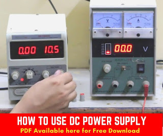 DC Power Supply for mobile phone Step by Step Guide