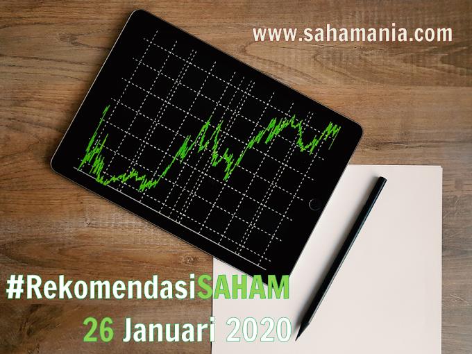 Analisa dan Rekomendasi Saham Minggu 26 Januari 2020