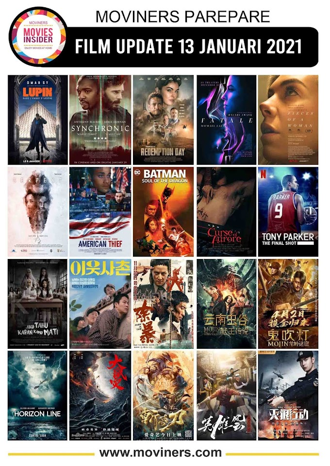 FILM UPDATE 13 JANUARI 2021