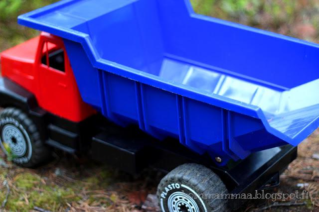 rekka kuorma-auto plasto lelu