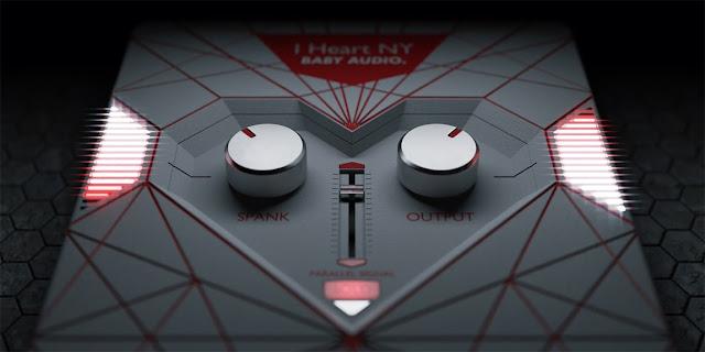 Interface do Plugin BABY Audio - I Heart NY Parallel Compressor