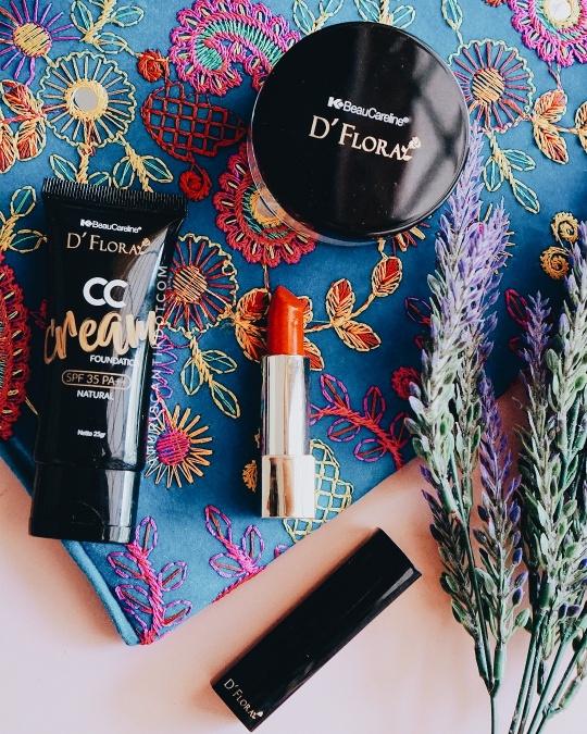 makeup flawless dengan dflora