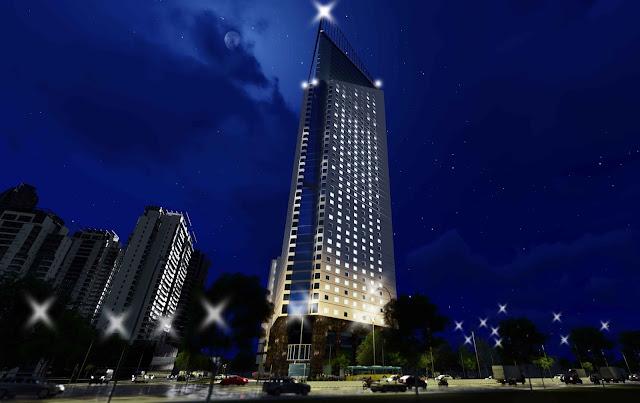 Vị trí chung cư tháp doanh nhân