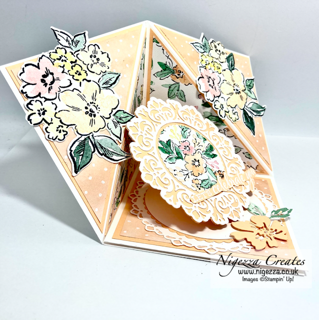 Corner Pop Up Card With Hand Penned Bundle