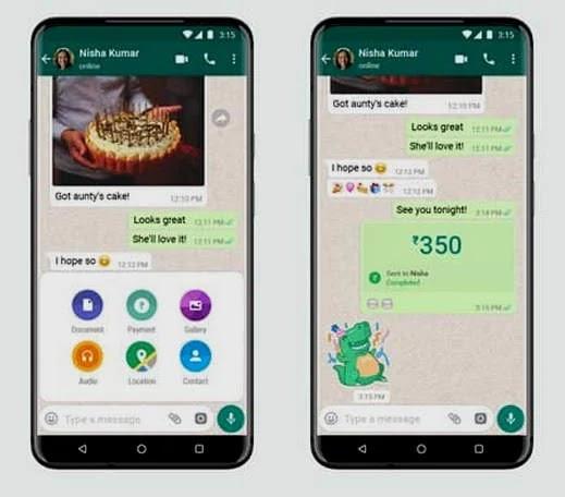 صورة كيفية استخدام WhatsApp Pay
