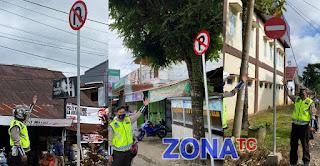 Jangan Sampai Melanggar, ini Perubahan  Arus Lalu Lintas di Toraja Utara