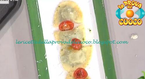 Ravioli con broccoletti e cacio ricetta Bottega da Prova del Cuoco