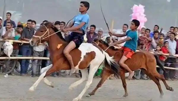 উল্লাপাড়ায় ঐতিহ্যবাহী ঘোড়া দৌড় প্রতিযোগিতা অনুষ্ঠিত