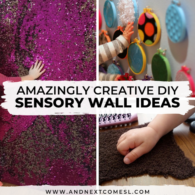 DIY sensory board ideas for kids with autism