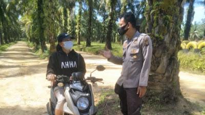 Patroli Dialogis Sampaikan 3M dan Tingkatan Kewaspadaan Lingkungan