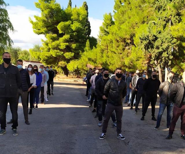 Ορκίσθηκαν οι συνοριοφύλακες των Διευθύνσεων Αστυνομίας Αργολίδας, Αρκαδίας, Κορινθίας, Λακωνίας και Μεσσηνίας.