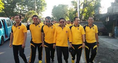 Kapolres Minsel Olahraga Bersama TNI