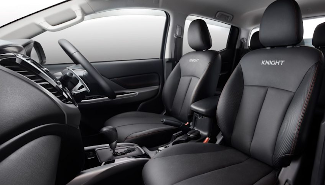 Mitsubishi Triton Knight Edition Dijual Hanya 120 Unit Di Malaysia - Interior - Kabin