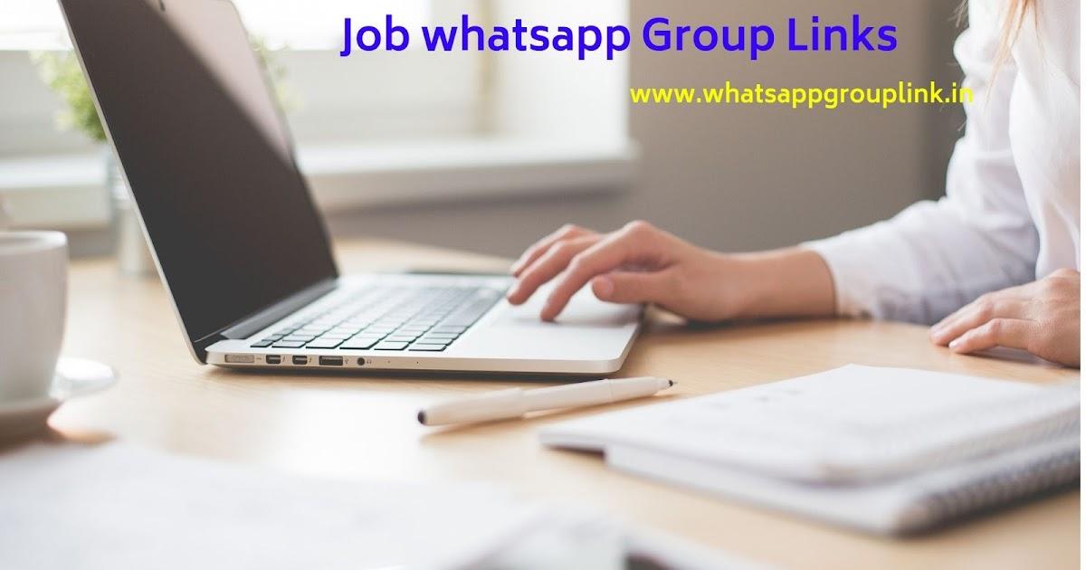 Whatsapp Group Link: Job Whatsapp Group Links