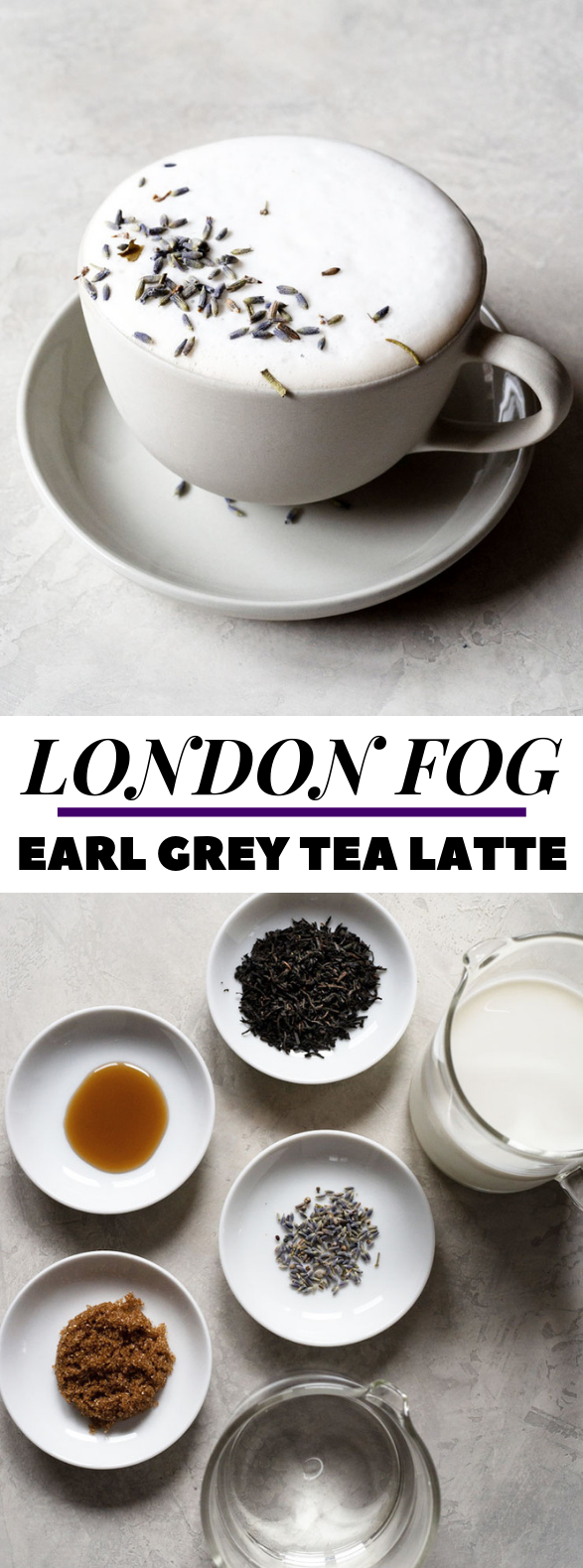 London Fog Drink (Earl Grey Tea Latte) #drinks #tastyrecipe
