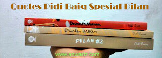 novel dilan pidi baiq quote