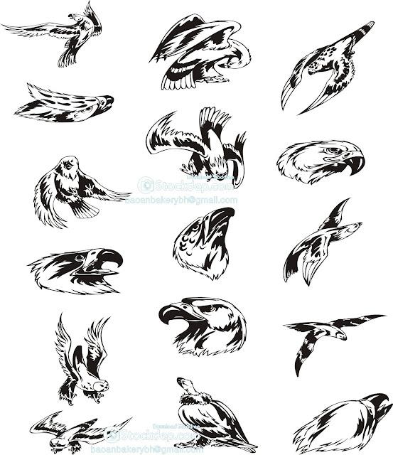 Chia sẻ Mẫu Chim đại bàng cắt CNC
