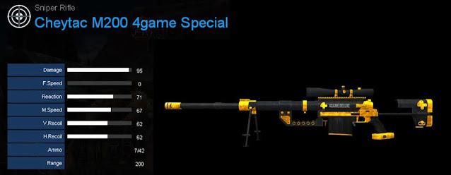Detail Statistik Cheytac M200 4game Special