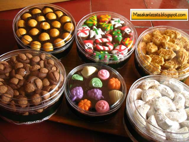 Resep Aneka Kue Kering Buat Natal Tahun Baru Dan Lebaran ...