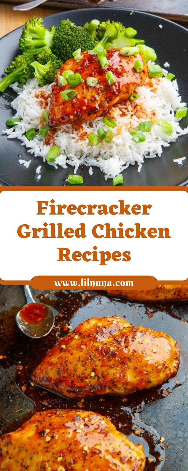 Firecracker Grilled Chicken Recipes