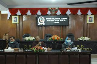 Rekomendasi DPRD Terkait Pengelolaan Pasar Tanjung Anyar
