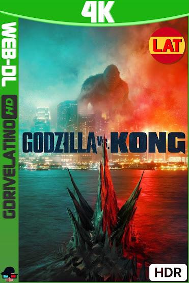 Godzilla vs. Kong (2021) HMAX WEB-DL 4K HDR Latino-Ingles MKV