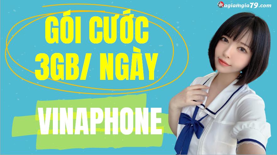 đăng ký gói 3GB/ ngày vinaphone