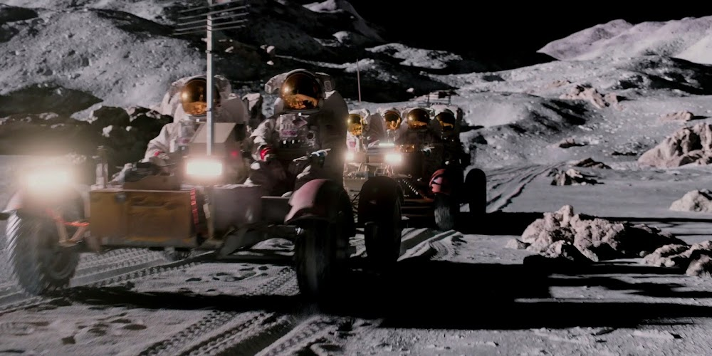 Astronauts driving on the Moon in season 2 of 'For All Mankind'