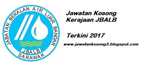 Jawatan Kosong Terkini Jabatan Bekalan Air Luar Bandar Sarawak