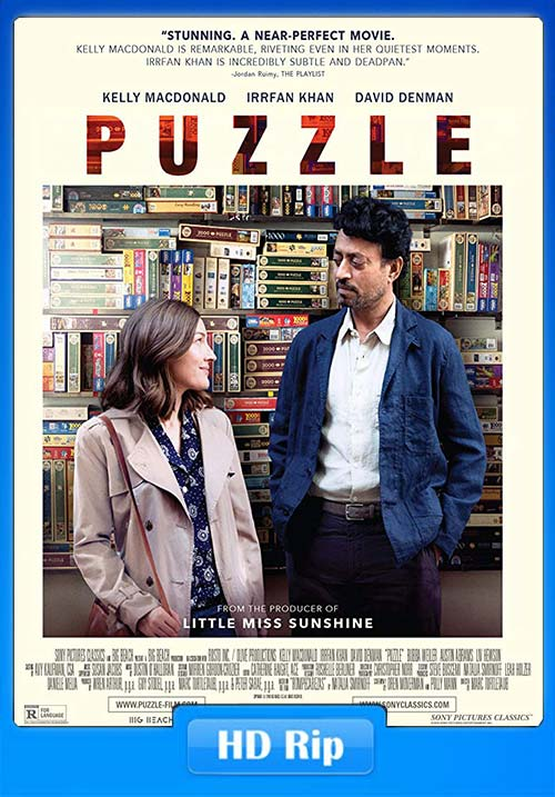 Puzzle 2018 English 720p HDRip x264 | 480p 300MB | 100MB HEVC Poster