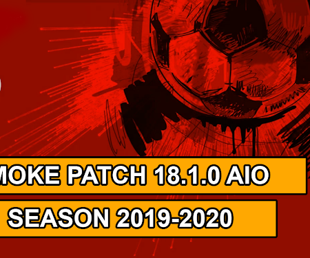 PES 2018 Smoke Patch 18.1.0 AIO + Update 18.1.5 Season 2019/2020
