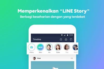 Cara Mengatasi Line Story Tidak Bisa Digunakan Error