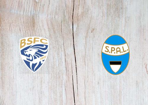 Brescia vs SPAL -Highlights 19 July 2020